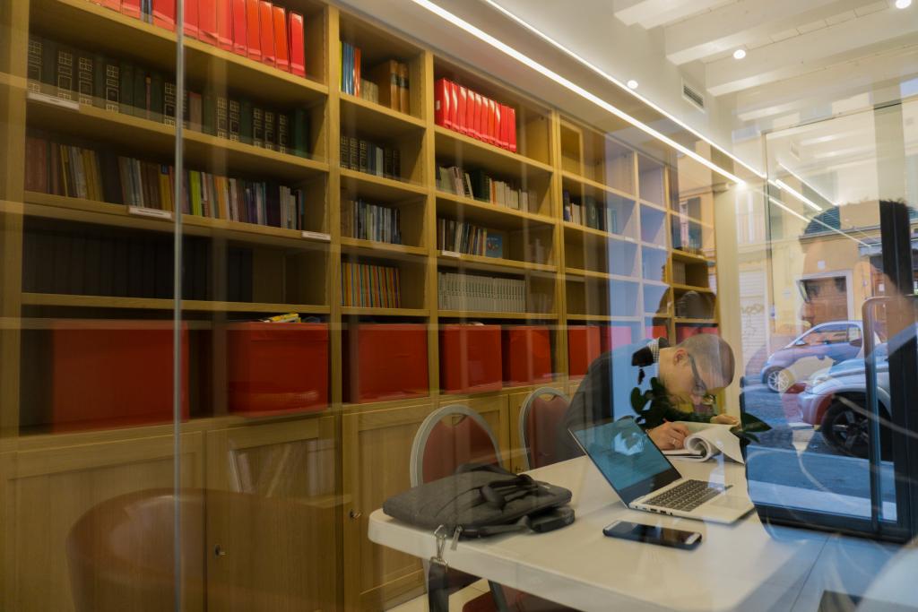 biblioteca cristiana a bologna forte torre